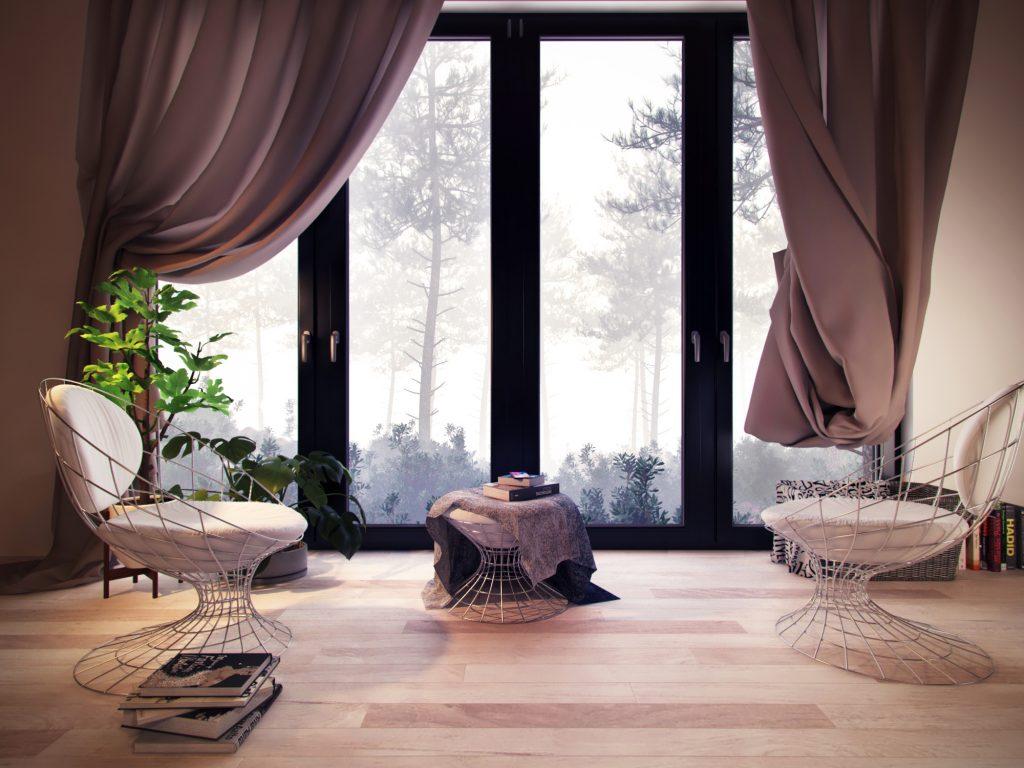 3d render of interior