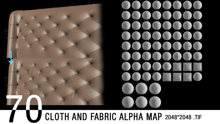 cloth alpha map