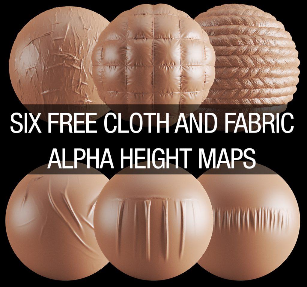 free cloth and fabric alpha brush