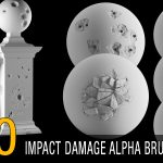 impact damage alpha brush bundle