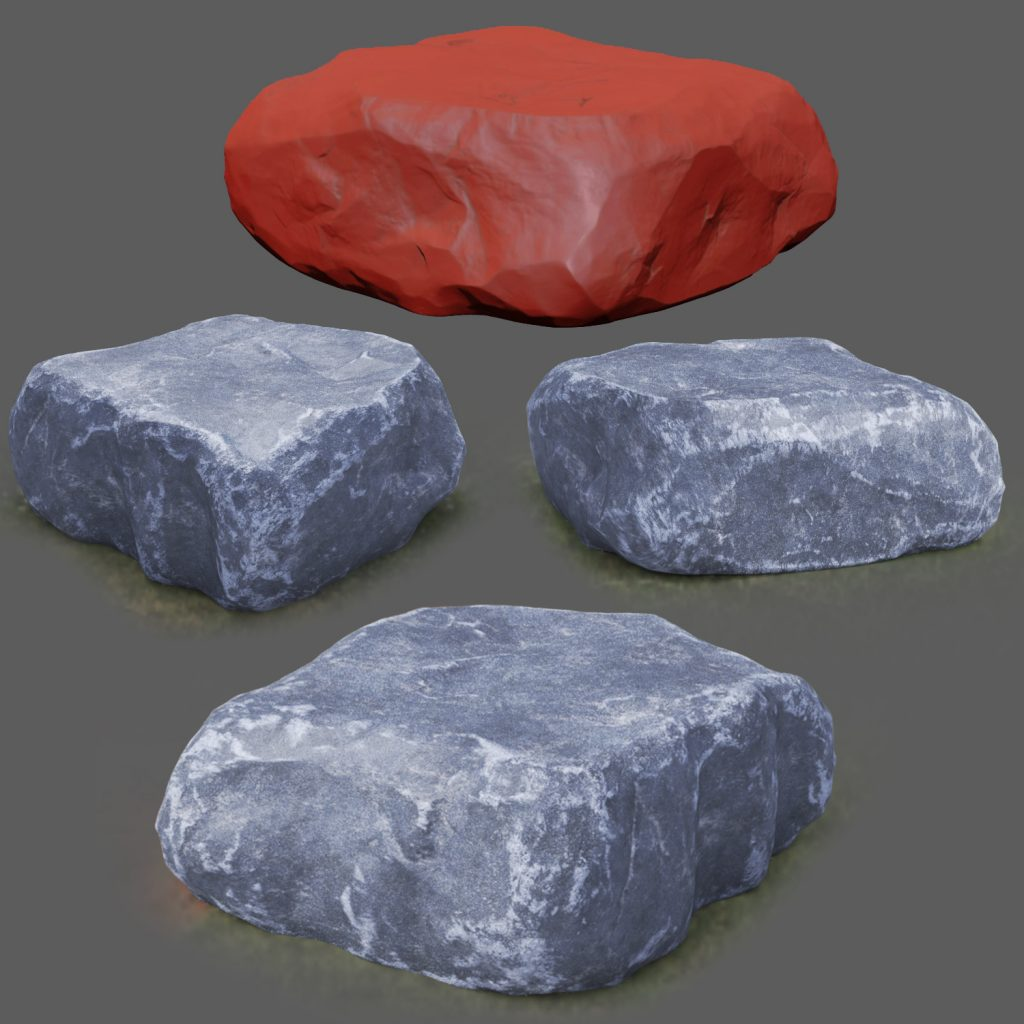 stone and rock easy sculpting alpha brush bundle