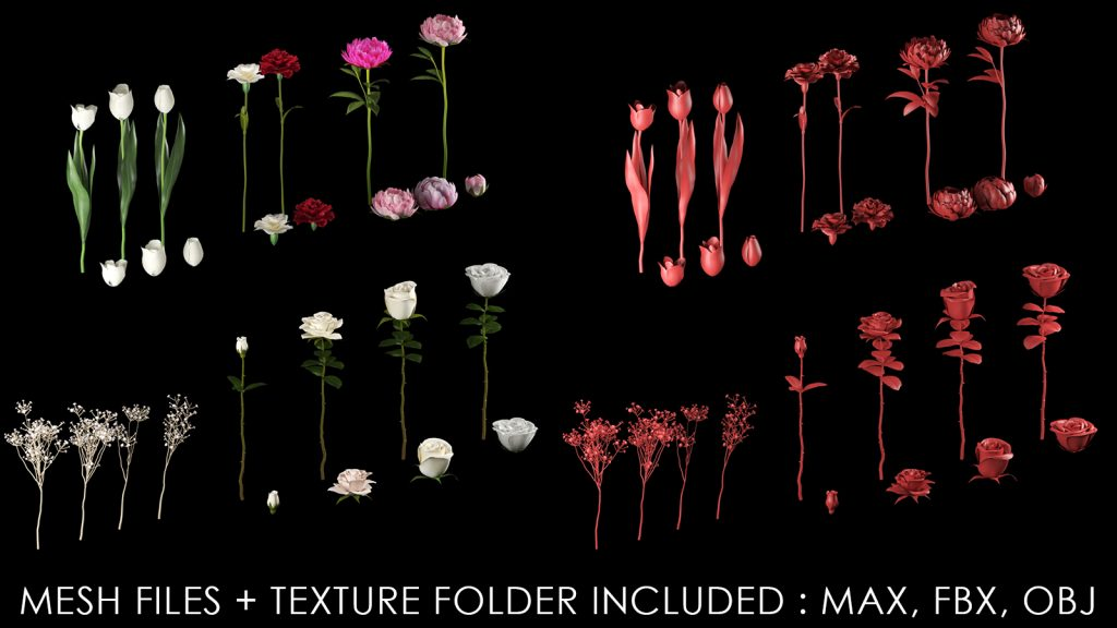 flower imm brush bundle