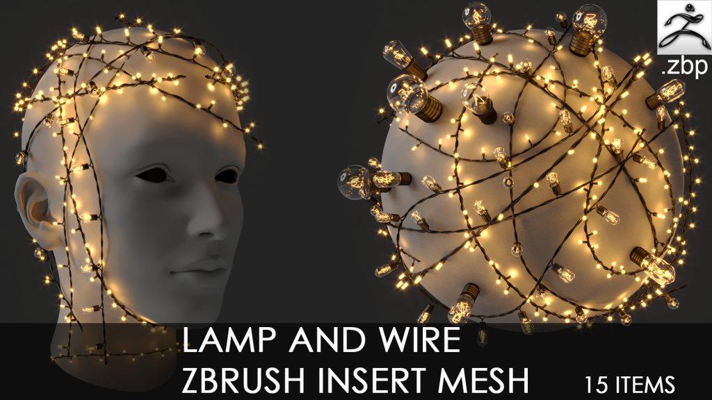 lamp and wire imm brush