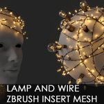 Lamp and Wire IMM curve brush